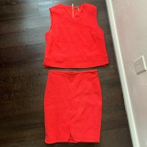 Vince Camuto skirt set
